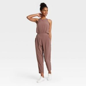 NWOT**All in Motion Sleeveless Jumpsuit